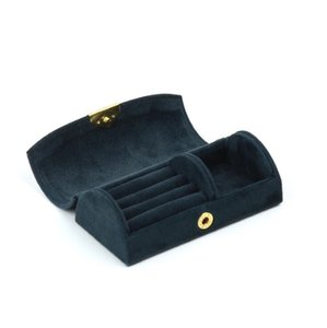 Schmuckhülle Ring Aufbewahrungsboxen Bogen GesichtsantragAlle Venen Aufbewahrungskoffer Reisen Tragbare Box Organizer Schmuckhalter Geschenkbox Meer Eeb4353