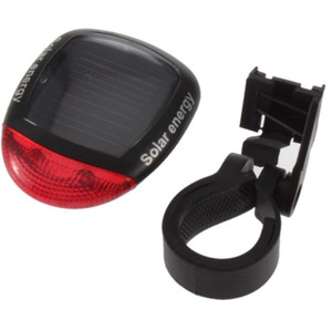 Mountain bike Light Solar Powered LED Rear Flashing Tail Light for Bicycle Cycling Lamp Safety Warning Flashing Light bicycle Accessories