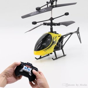 Mini RC Drone Helicopter Infraed Induction 2 Channel Electronic Funny Suspension Remote Control Aircraft Quadcopter Drones Kids Toys