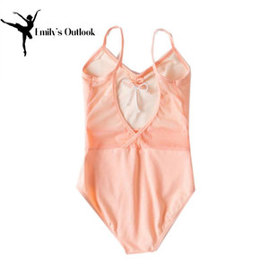 Lace Slim Girls' Classics V-Neck Camisole Leotard Gymnastic Ballet Dance Tutu Dress Camisole Leotard Skirt Extra Big New Arrival