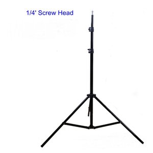 Stativ 200cm Lichtlampenstativ Hintergrund Support 1/4' Schraubenkopf für Fotostudio Vedio Flash-Softbox Regenschirme RU