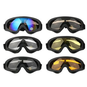 bike dustproof sunglasses ski snowboard atv dirt bike off road adult goggles glasses eyewear clear frame eye glasses hot sale