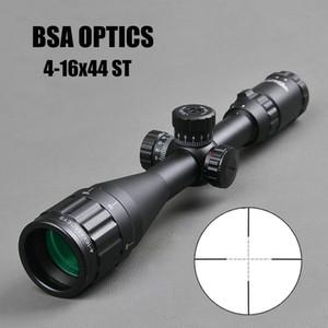 Оптика BSA 4-16x44 St Tactical Оптический Прицел Зеленый Красный Освещенный Рифлсcope Охотничья Винтовка Снайпора Снайпер Airsoft Air S