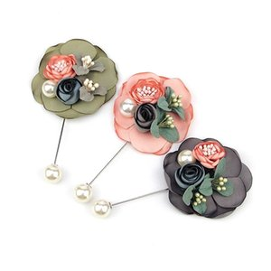 Fashion Clothing Accessories Brooch Brooch Cloth Flower Flower High-end Flower Brooch Fashion Clothing jllZsX yy_dhhome
