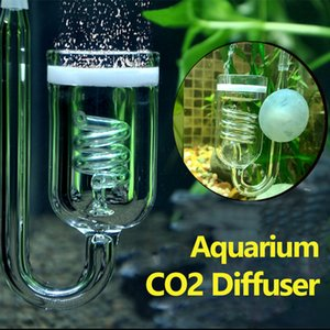 1 PC Aquarium Co2 Difusor Tanque de Vidro Bubble Atomizer Reator Solenóide Regulador Musgo Co2 Atomizador para 60 ~ 300L Plantas