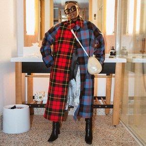 RVQM Black Womens Wool Con Cinturón Extra Long Long Winter Invierno Chaqueta Inconformista Abrigos Abrigo Para Mujer Abrigo Abrigo Extranjero Overerwear