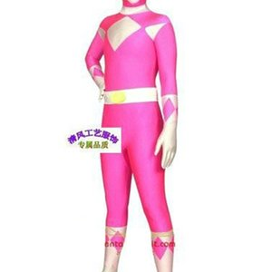 Equipe de Dinossauro Alta Elastic Tights Jumpsuit / Anime Filme e TV Personagem Halloween Props Costume NightClub