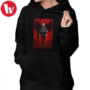 Lucifer Series Hoodie Lucifer Hoodies Cotton Streetwear Hoodies Women Graphic Sweet Long Sleeve Grey Oversize Pullover Hoodie Y1116