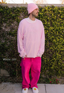 Drew Manga larga House Bieber's Mismo Smiley Face Carta Daño Towel Towel T-Shirt Suéter para hombres y mujeres