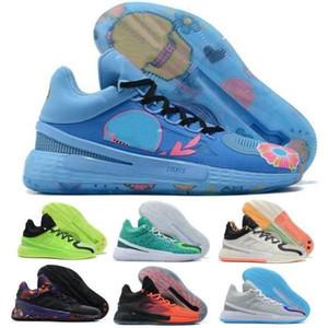 2021 Nuova Derrick D Rose 11 Uomini Scarpe da basket Sneakers MVP Brenda Oreo Famiglia Primo segnale Verde Cina Luce Strike Blue Trainer Scarpe