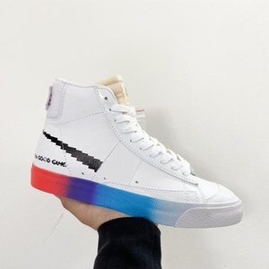 New 2020 Have A Good Game Blazer Mid Designer 77 Vintage Skateboard Sneakers Mens Outdoor Walking Shoes Trainers Size Us7 -Us11 2021