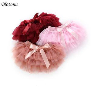 Blotona Toddler Baby Girls Layer Ballet Dance Pettiskirt TUTU Юбка фото Поддержка Оптом 0-24 м