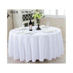"""126 """"Copertura da tavolo in tessuto da tavolo rotondo per banchetto da sposa festa decorazione tavoli in tessuto satinato abbigliamento tavola di nozze tovaglia casa"""