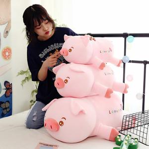 Factory Direct Software Down Down Cotton Sword Свиные плюшевые игрушки Розовая кукла Большая подушка Кукла одно поколение