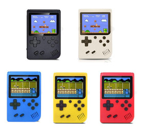 Retro Portable Mini Handheld Video Game Console 8-Bit 3.0 Inch Color LCD Kids Color Game Player with Gamepad TV OUT
