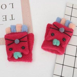 I bambini invernali tengono i guanti caldi dei bambini dei bambini dei guanti da equitazione all'aperto dei guanti da equitazione per i guanti e delle ragazze dei guanti dei guanti e delle ragazze dei guanti dei guanti 2020 nuovi guanti da dito
