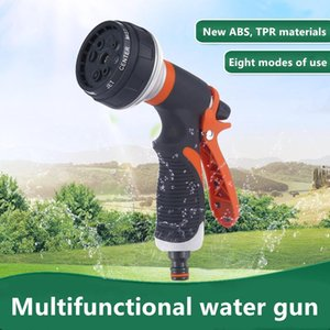 Watering Water Gun Lawn Hose Tools Multi-function Garden Agriculture Spray High Pressure Sprinkle Hand-held Car Wash Nozzle