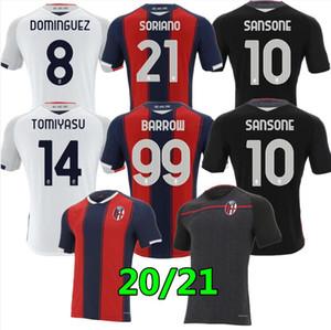 Tailandia 20 21 Bolonia FC 1909 Jersey de fútbol Home Orsolini 20 21 Maglie da Calcio Sansone Dominguez Tomiyasu Soriano Barrow Camisetas de fútbol