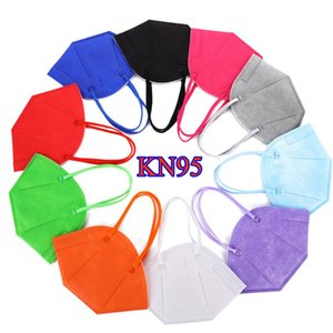 KN95 Masks Masks Новая Маска для лица Фабрика 95% Фильтр Фильтр Активированный Углеродистый Респиратор 5 слоев пылезащитный Маски Мужчины Женщины Черный Белый FaceMask