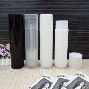 5g Plastic Lipstick Tube Refillable Bottles 5ml Empty Lip Balm Tube For Cosmetic Packing