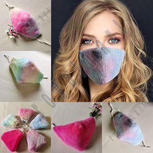 Masques en peluche d'hiver pour adultes pour maintenir des masques d'oreille à accrocher à chaud en plein air Three-Dimensionnel respirant des masques de cyclisme