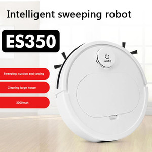 ES350 Rechargeable Home 3 in 1 Robot Vacuum Cleaner Household Convenient Dirt Dust Hair Automatic Sweepin Mop Machine