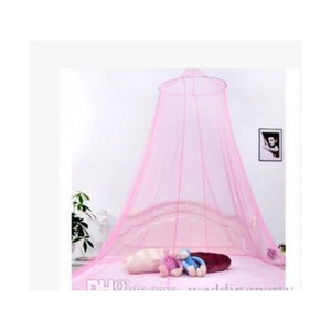 Elegant Round Lace Insect Bed Canopy Netting Curtain Dome Mosquito Net New jllMfz yummy_shop