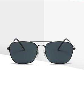 Sonnenbrille ohne Make-up kleiner Rahmen schwarzer Sonnencreme Polaroid Retro