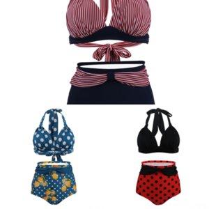 JQJ Mujeres Sexy Skydress Swimdress Erups Split Split Womans Up Skydress Wear 2016 Push Up Swim Damas Summer Swimsuit Beach Wear Bikinis