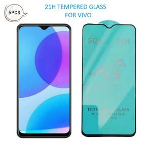 5pcs 21h Película protectora de pantalla de cristal templado para VIVO Y19 Y17 Y15 Y12 Y11 2019 Y11S Y3S Y9S Y9S Y5S Y5S ENVÍO GRATIS