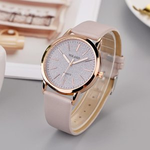 Yolako Star Watch Femmes Casual Quartz Cuir Sangle Analog Bracelet Montre mural Horloge Moderne Design Sticker Bayan Kol Saati 30 *