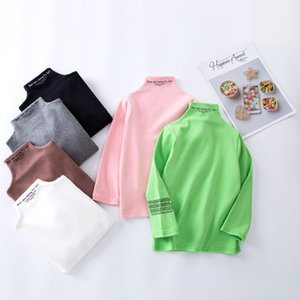 Kids Long Sleeve Shirt for Toddler Baby Boys Girls Children Warm Fashion T-shirt Boy Girl Teens Neck Tops Outfit
