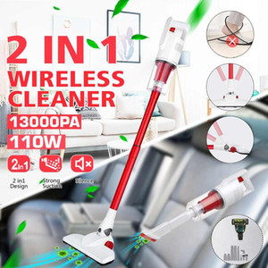 12000Pa 2 In 1 Portable Handheld Cordless Vacuum Cleaner Strong Suction Dust Collector Stick Aspirator Led Light Stick Handheld