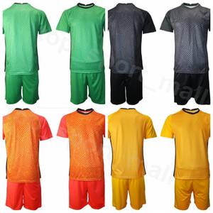 Goalkeeper GK Soccer France Goalie 16 Steve Mandanda Jersey Set 1 Hugo Lloris Fabien Barthez 23 Alphonse Areola French Football Shirt Kits