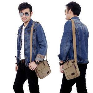 Men Shoulder Bag Light Men Shoulder Bag For Pocket Waterproof Casual Crossbody Black Canvas Messenger