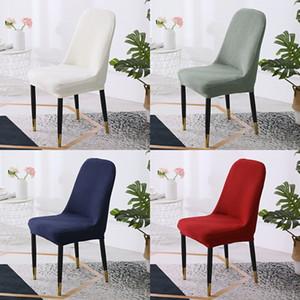 Katı Renk Sandalye Kapak Elastik Kanepe Ofis Yarım Bölge Evrensel Moda Koltuk Yastık Sandalyeler Arkalığı Kapakları Ev Malzemeleri 10YG K2
