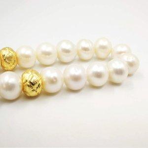 Womens Natural Freshwater pearl Tasbih 33 66 99Muslim prayer beads gift bracelet Misbaha Turkish Kazaz fashion Islamic jewelry Y200730