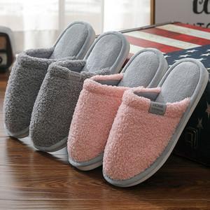 2021 Новые мягкие китайские женщины замшевые дизайнерские женские дома Новая женская Горячая домашняя обувь с кожей Большой размер 9-12 крытый PHYK