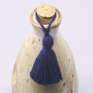 Tassel de algodão 8cm pendurado corda franja borla para costurar cortinas vestuário decoração de casa jóias artesanato acessórios 5 pcs lote h bbyjua