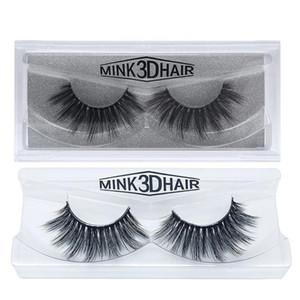 2020 Eyelashes Eye makeup Mink False lashes Soft Natural Thick Fake Eyelashes Extension Beauty Tools 3D False Eyelashe 17 styles