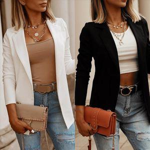 Fashion Women Coat Loose Top Long Sleeve Casual Jacket Ladies Office Wear Coat Blouse Womens Ladies Outerwear jackets new 2020