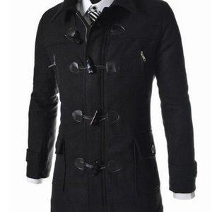 Men Windbreaker Jacket Poisocoat pour homme Hiver High Quality Homme Homme cornet de laine Manteaux Casual Opond Wool manteau LJ201110
