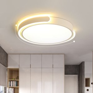 Camera da letto a soffitto caldo Romantico Romantico Lampada Round Round Lampada Simple Modern Family Led Master Bedroom Bedroom Bedroom Study Room Lighting Lighting RW488