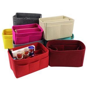 F войловая вставка сумка организатор сумка для сумочки кошелек мода органайзер Pelikus Feat Counchone Tote Multi-Pocket многофункциональная сумка для хранения оптом