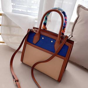 جديد وصول المرأة مصمم حقيبة يد الحرير والأوشحة سيدة اليد حقيبة عالية الجودة حقيبة الكتف