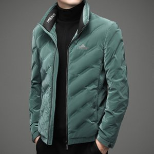 Muyu Chenge 2020 Men's Short Down Jacket for Middle-aged and Young People