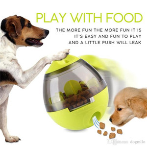 Interactive Dog Toys IQ Food Tumbler Ball Toy Smarter Food Dogs Treat Dispenser for Dogs Cats Animals Playing Games Training Pets Supply
