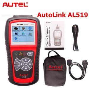 AUTEL AL519 AUTOLINK 다중 브랜드 자동차 OBDII / EOBD 스캐너 수명 업그레이드 지원 다국어 AUTOLINK AL5191
