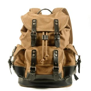 Мужская Студент Студент Досуг Школа Сумка Большая Емкость Путешествия Рюкзак Bulvas Открытый Альпинизм Сумка Компьютерный рюкзак
