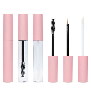 10ml Lip Gloss Tubi Lipgloss Tube Packaging Liquid Eyeliner Mascara Rossetto Tubi Bottiglia Vuota Rifinibile Cosmetici Contenitori